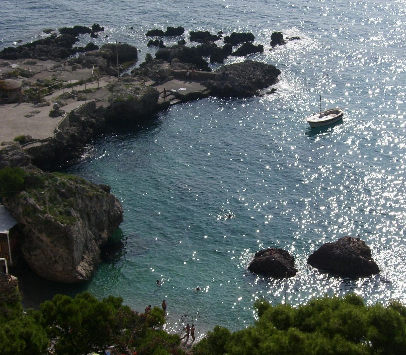 Sirenenfelsen auf Capri