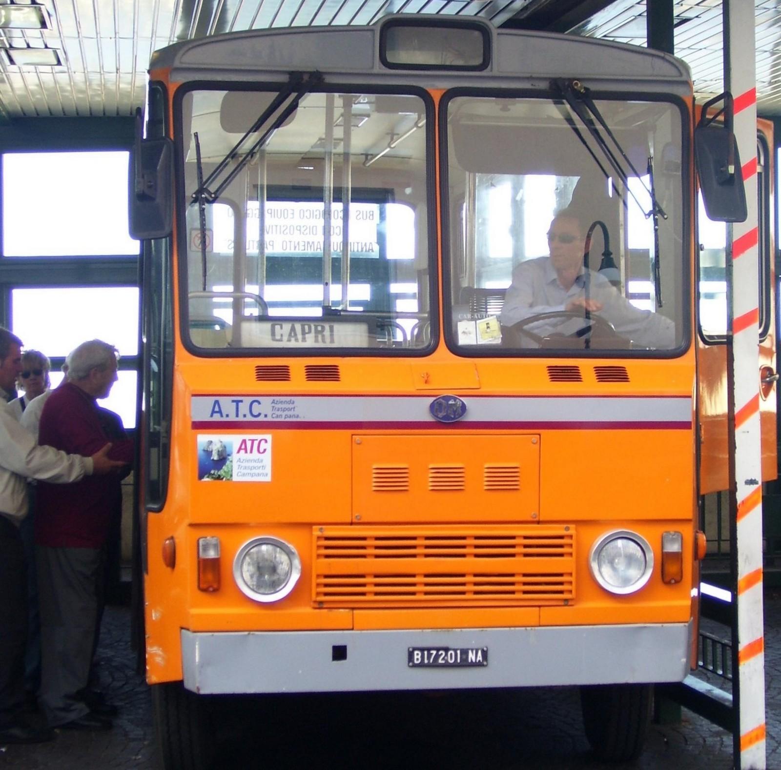 Bus Capri - Anacapri