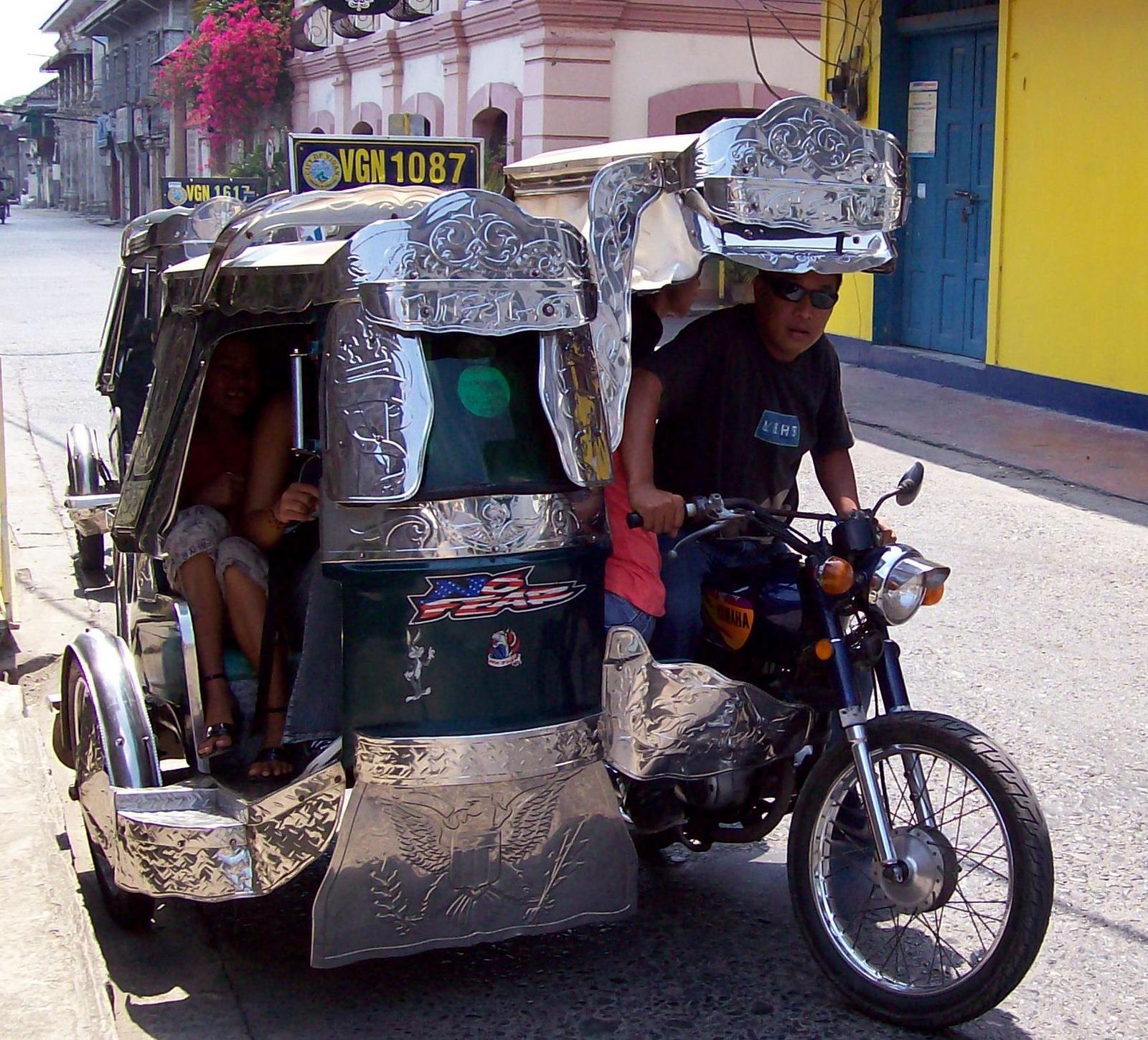 Trike in Vigan