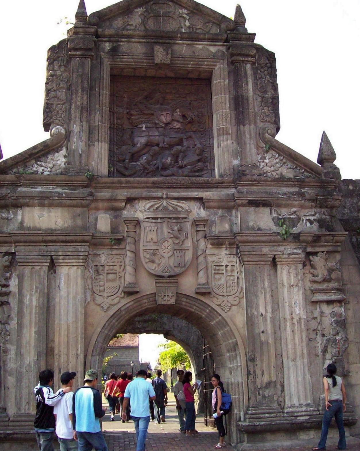 Tor zur Festung Santiago - Intramuros - Manila