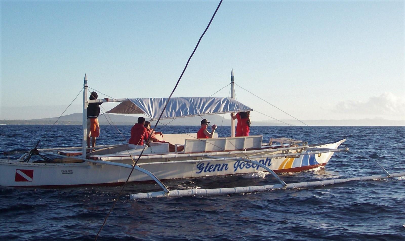 Bangka Boot vor Panglao