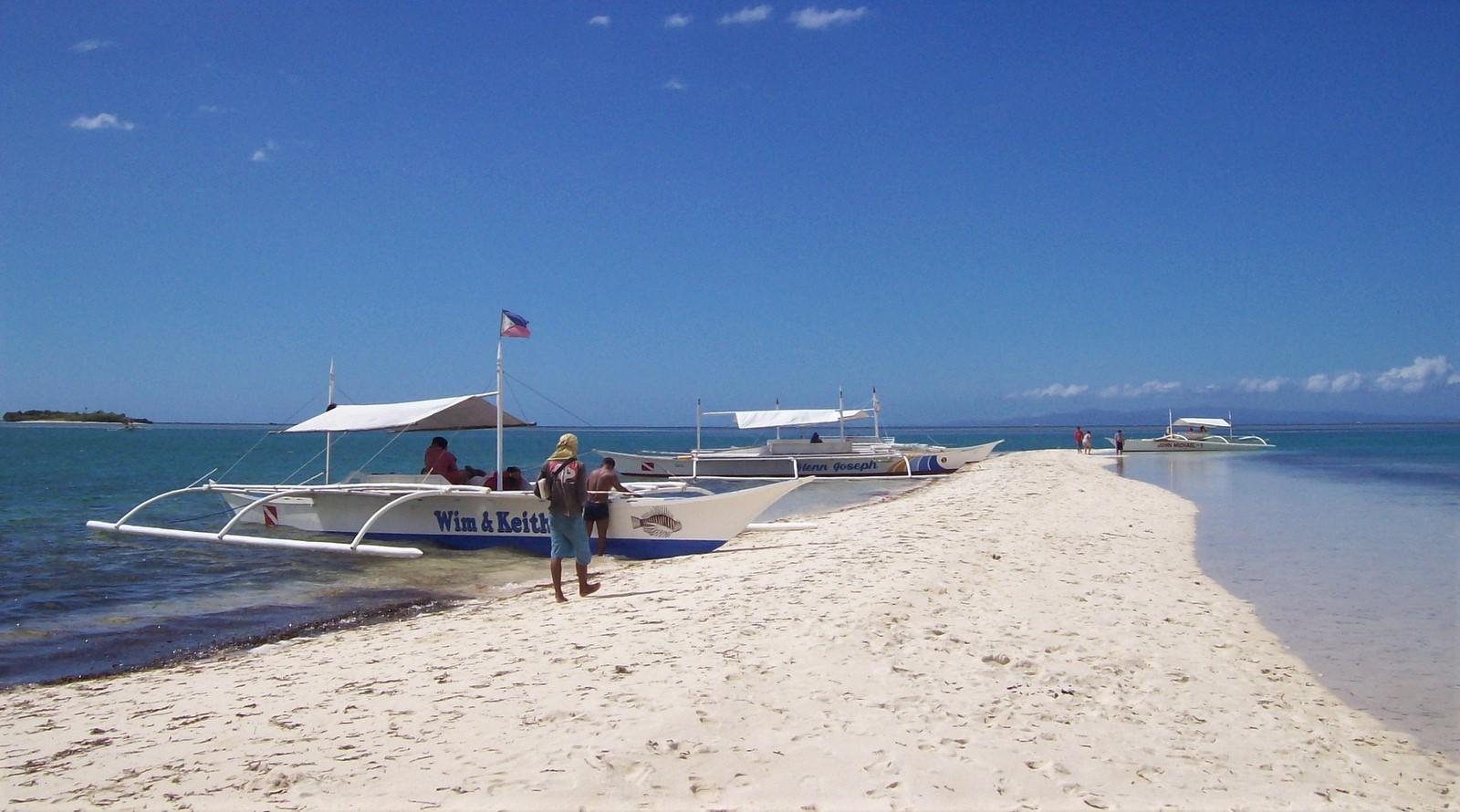 Virgin Island vor der Insel Panglao