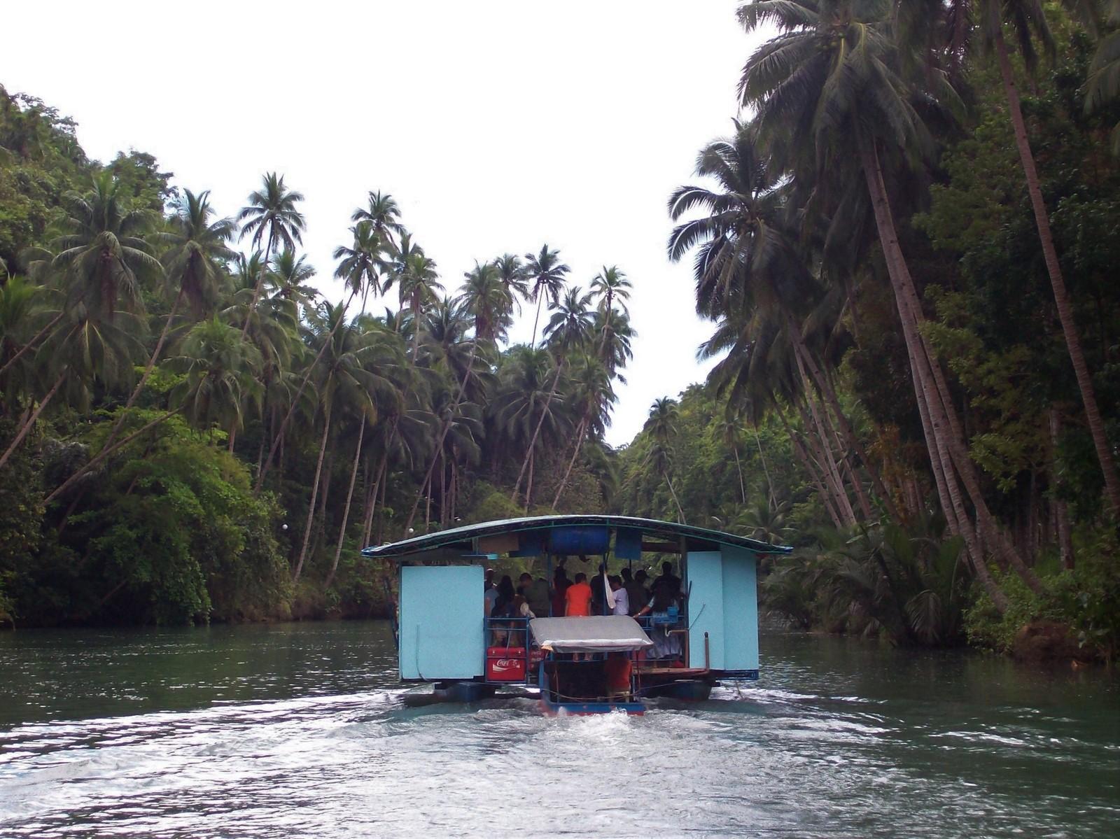 Bootsausflug auf dem Loboc River - Bohol