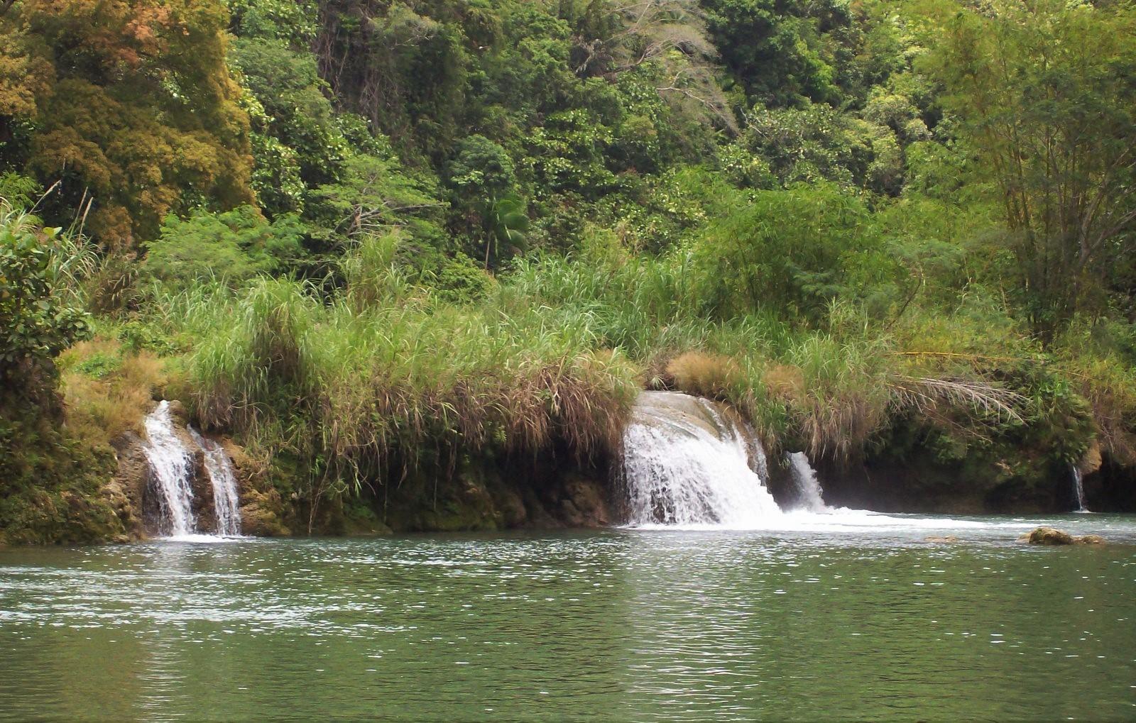 Wasserfälle am Loboc River - Bohol