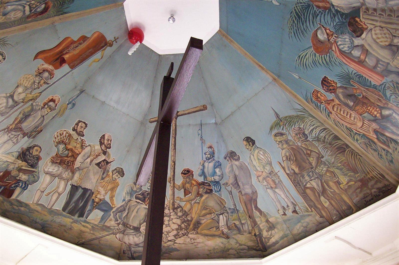 Das Kreuz des Magellan auf Cebu