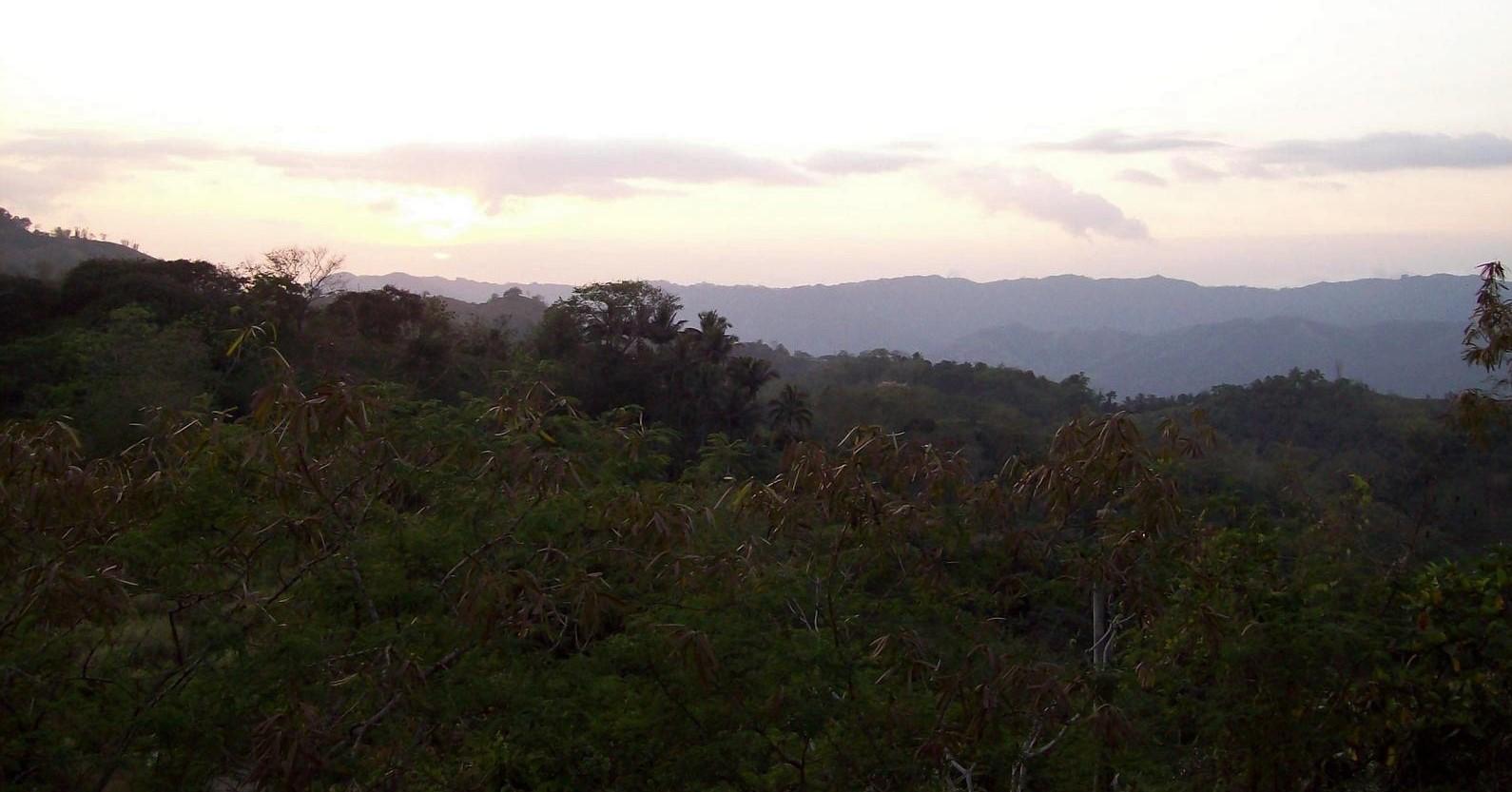 Berglandschaft auf Cebu