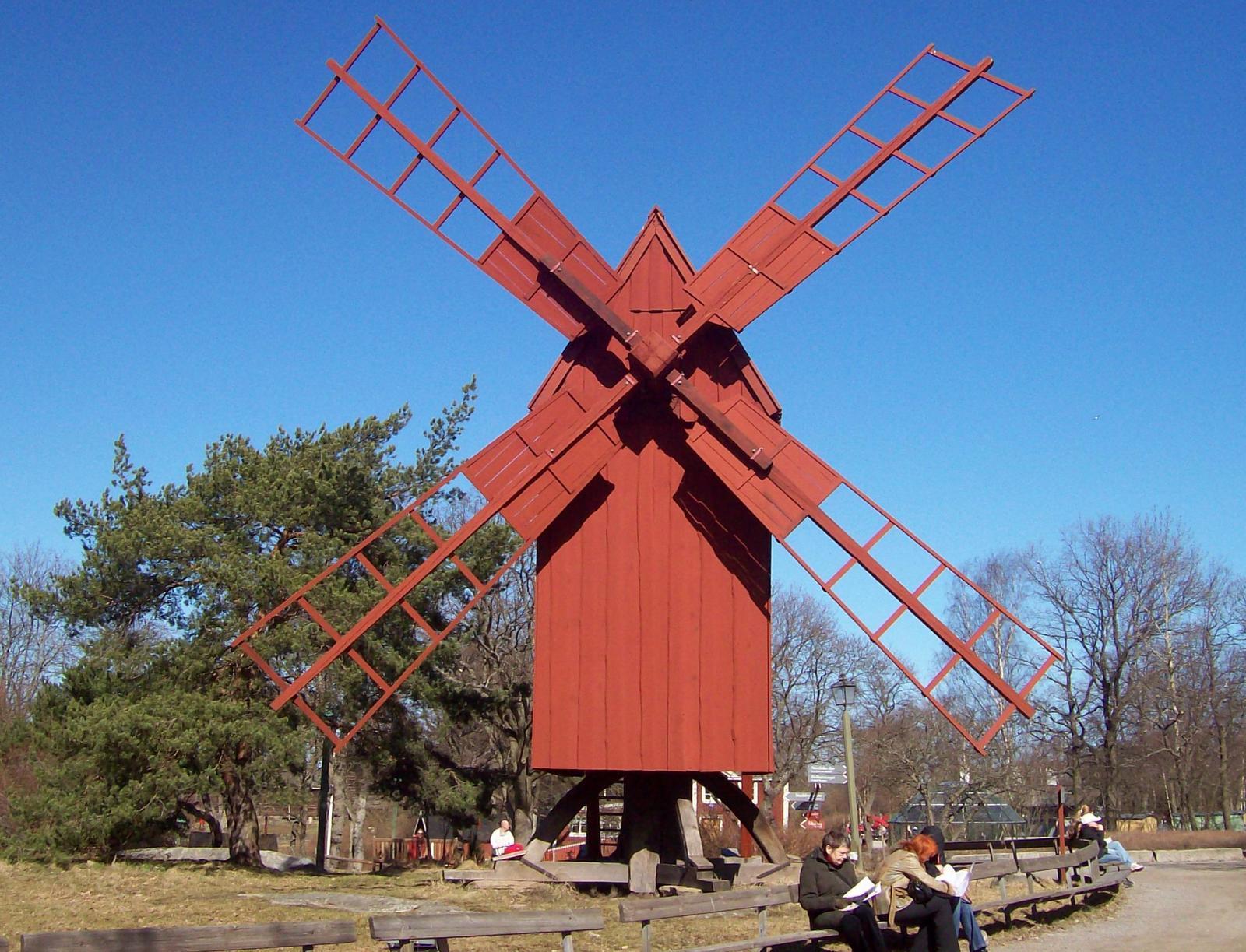 Windmühle von Skansen