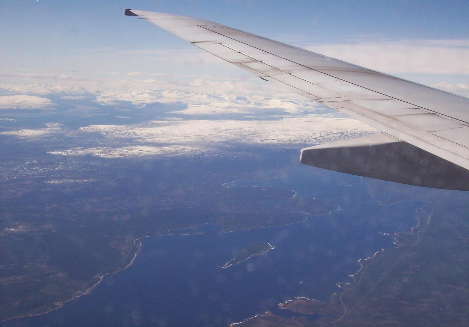 SAS-Flug über den Polarkreis nach Lappland