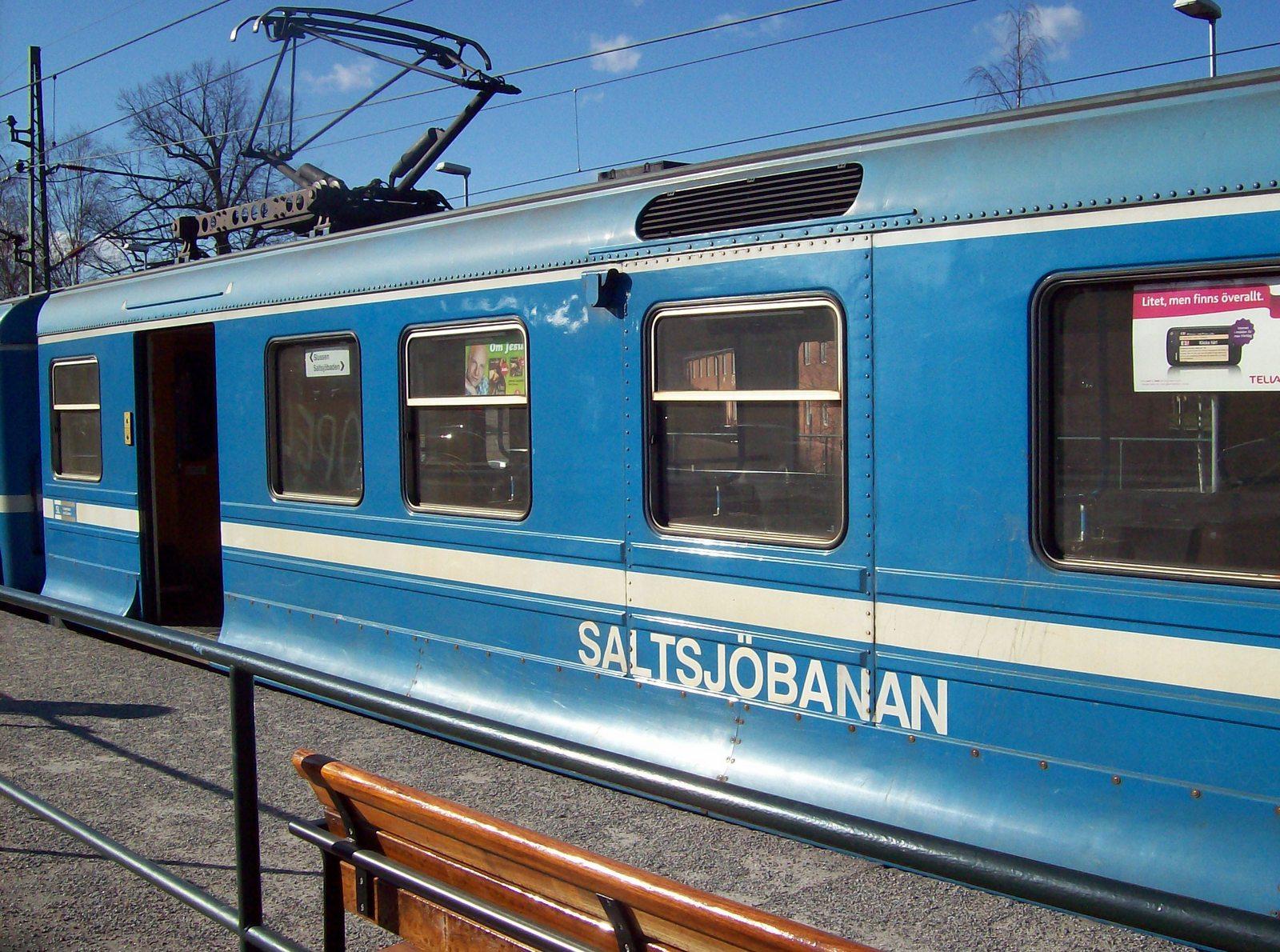 Saltsjöbanan Schweden