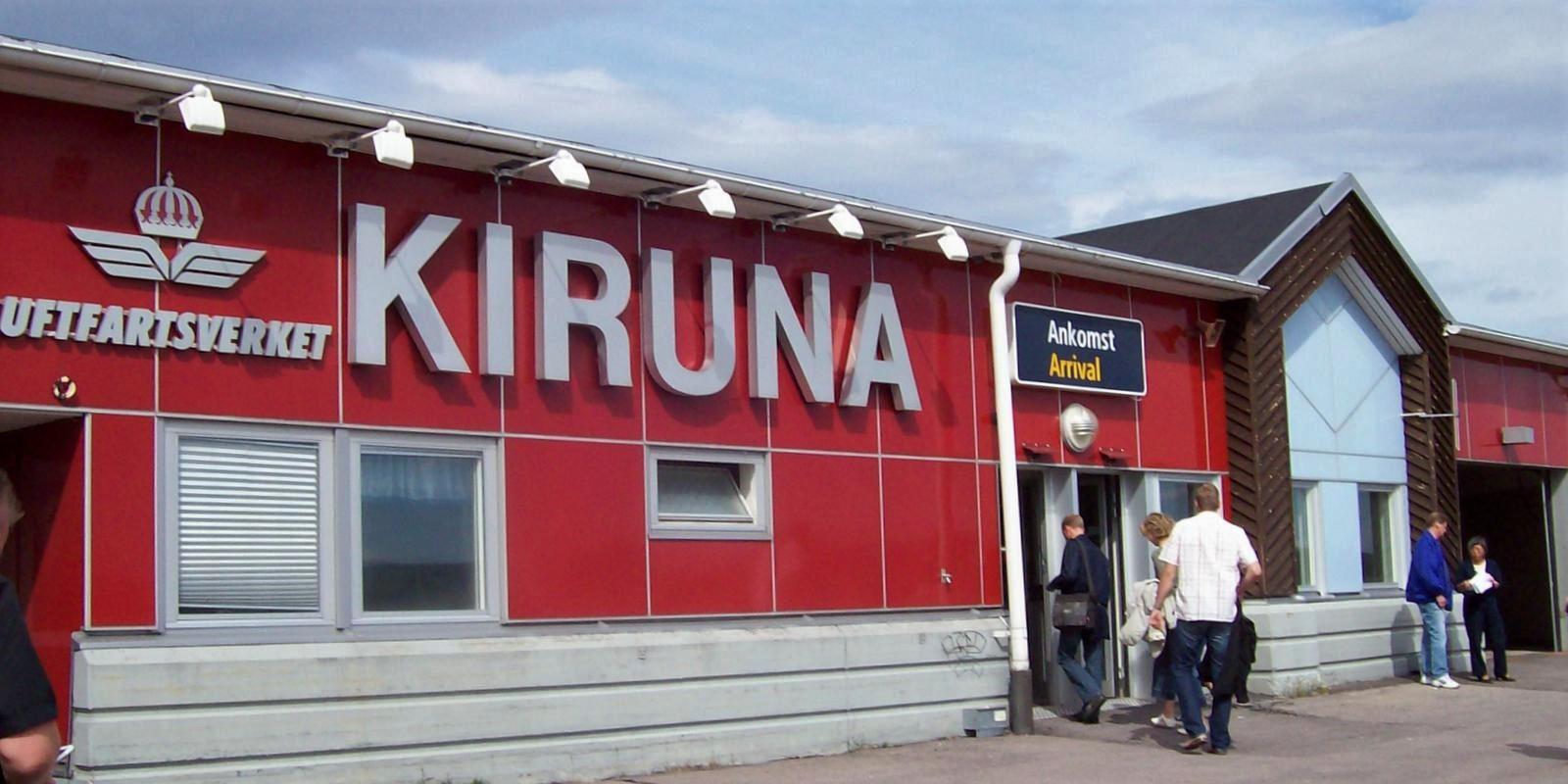 Flughafen Kiruna KRN - Lappland