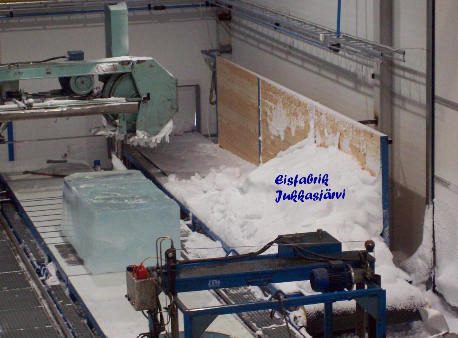 Eisfabrik Jukkasjärvi - Lappland