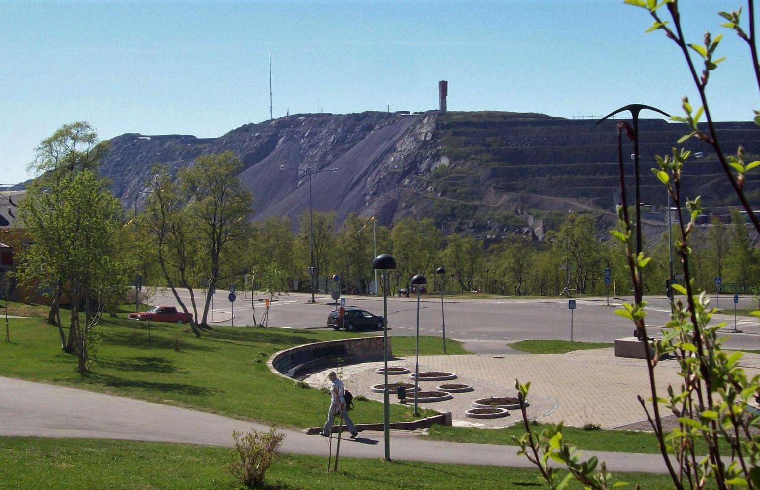 Bergwerksstadt Kiruna - Lappland