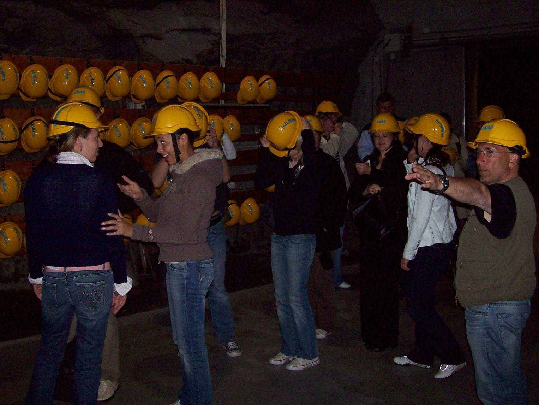 Erzgrube in Kiruna - Lappland
