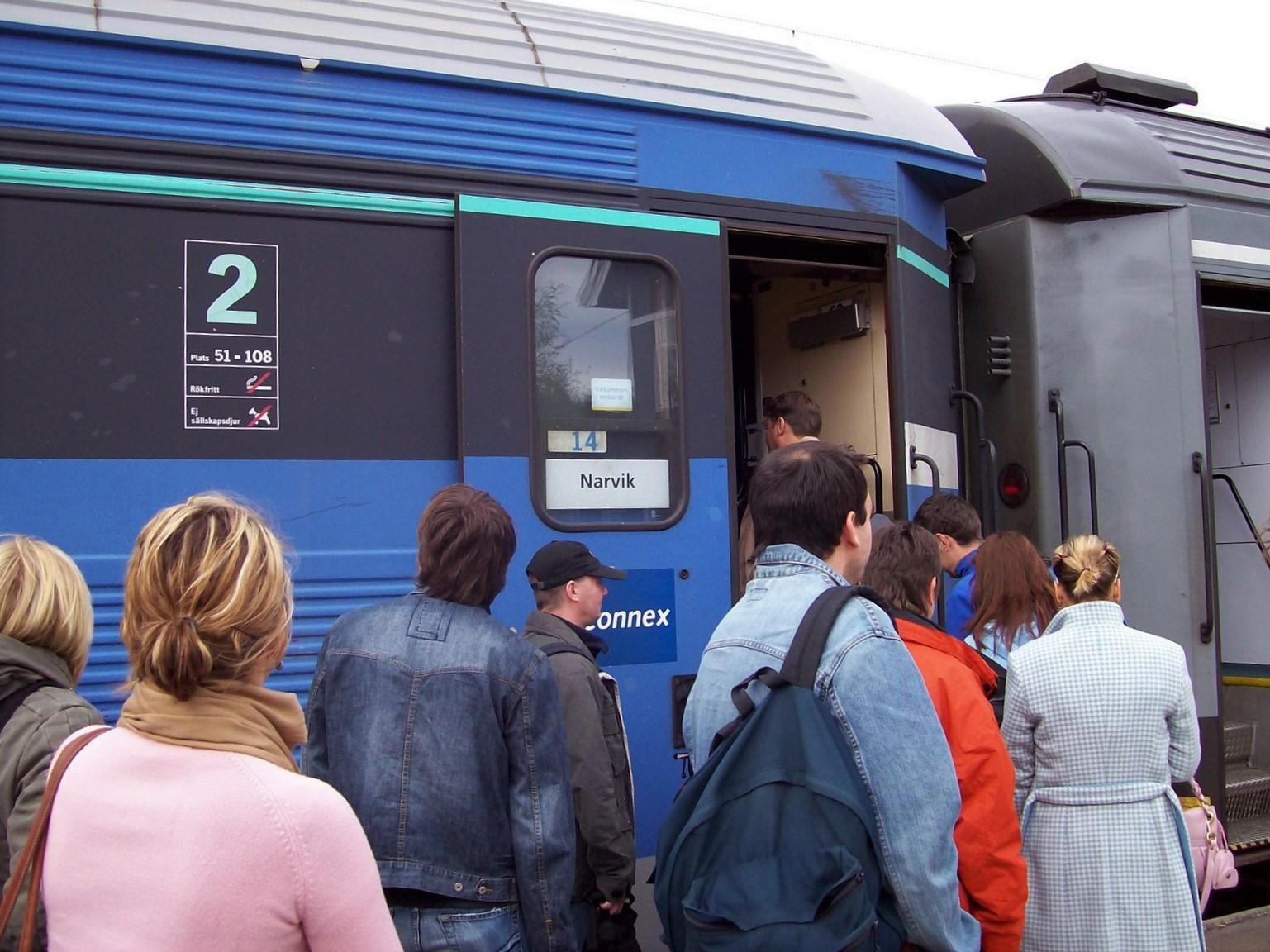 Malm- und Ofotbahn Kiruna (Lappland) - Narvik