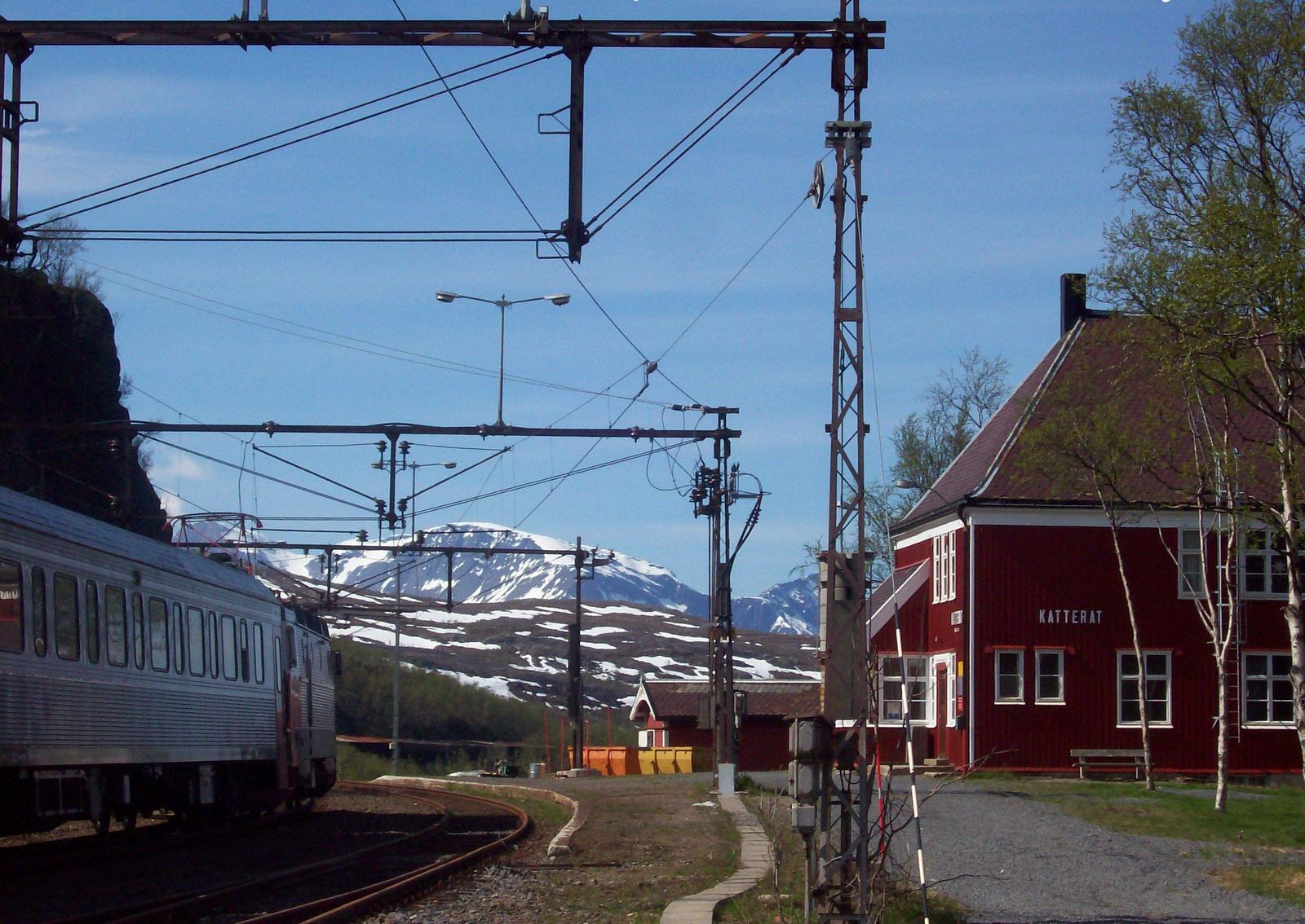 Bergstation Katterat der Ofotbahn