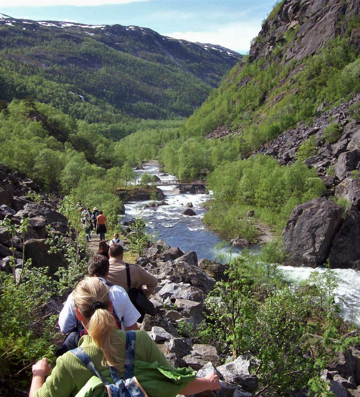 Wanderweg Katterat - Rombaksfjord in Norwegen