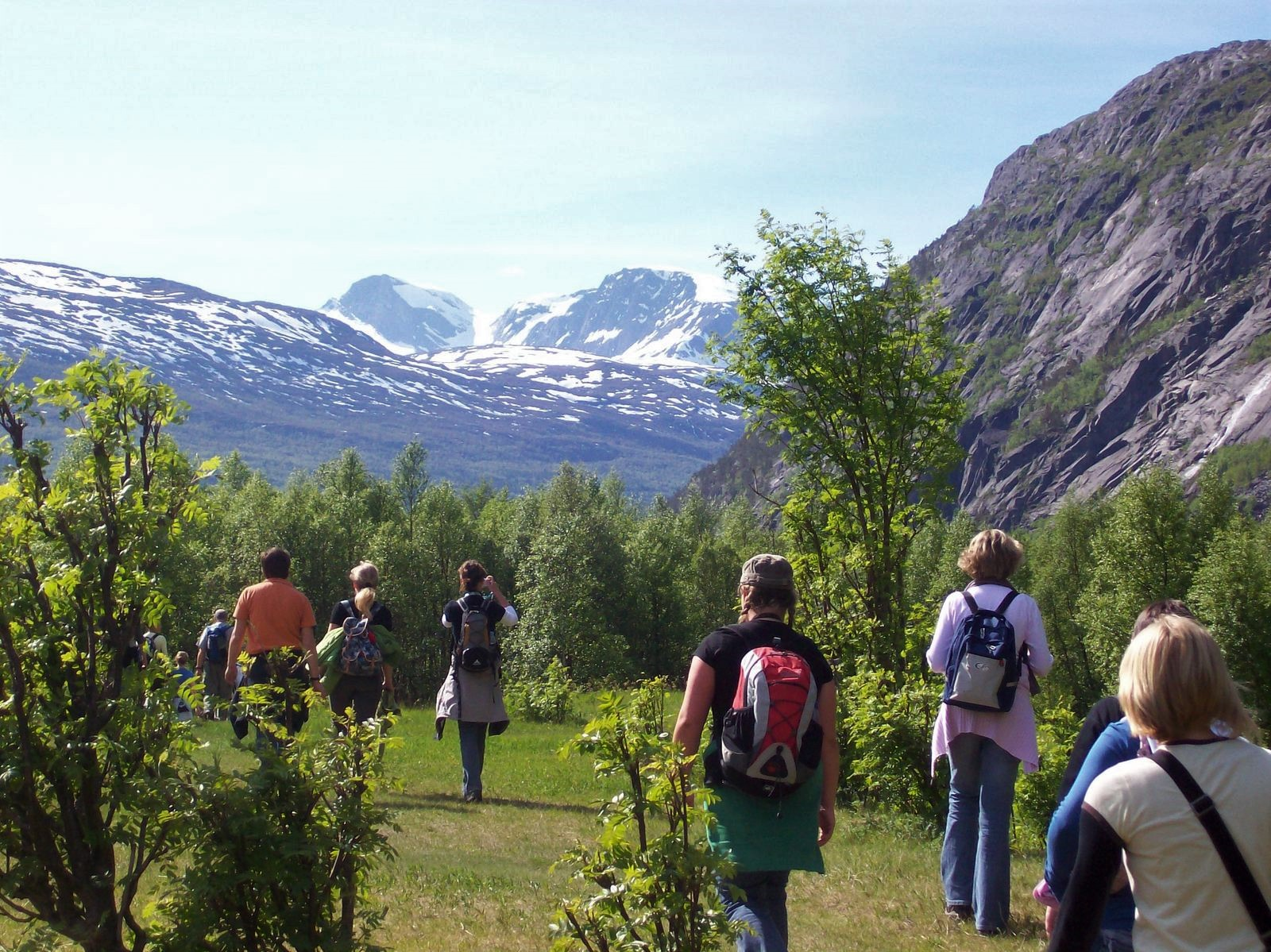 Wanderung zum Rombaksfjord - Norwegen