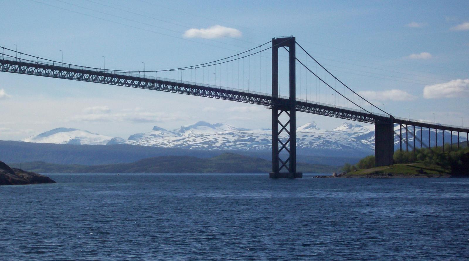 Rombaksfjordbrücke in Norwegen