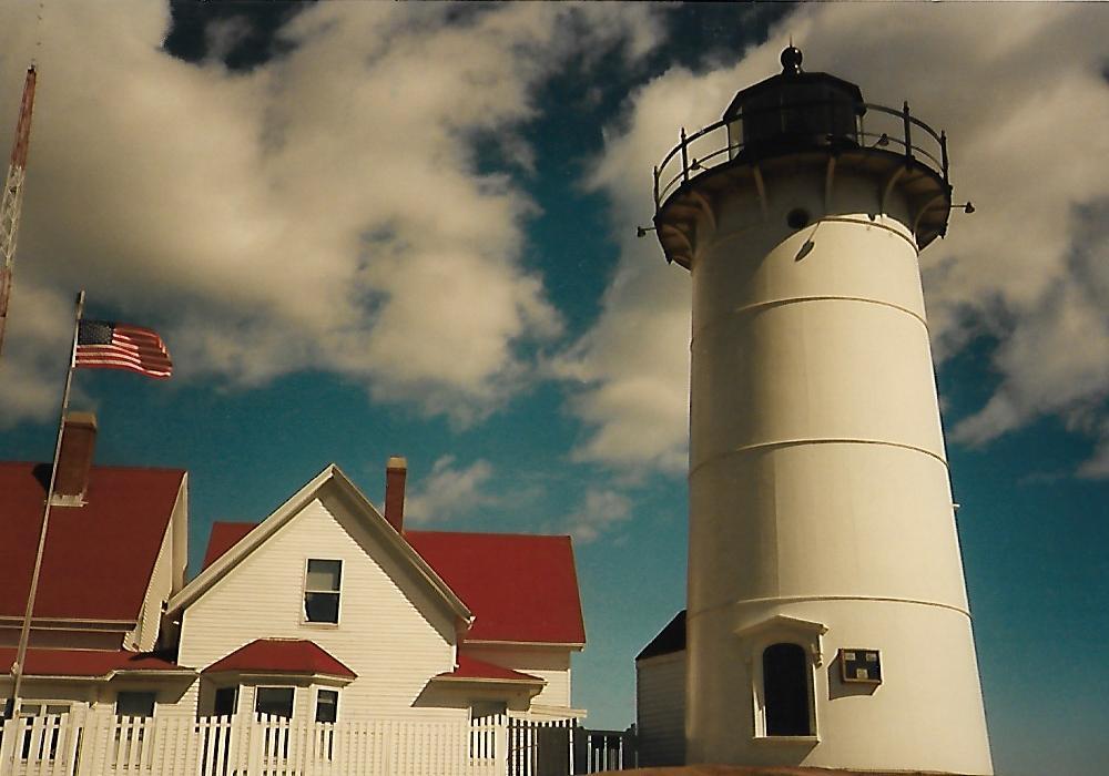 Nobska Lighthouse Falmouth MA - Cape Cod - Neuengland