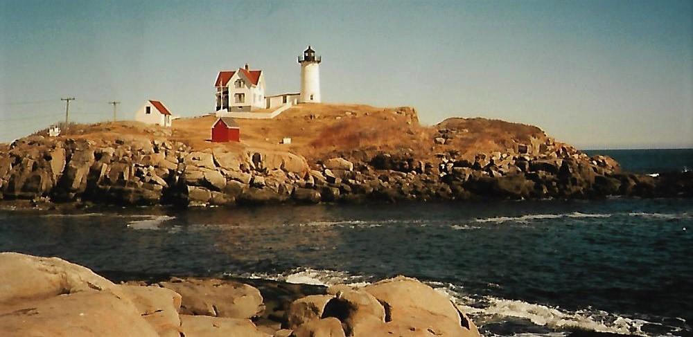 Nubble Lighthouse - Maine - Neuengland