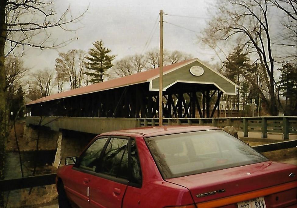Saco River Covered Bridge - Conway NH - Neuengland