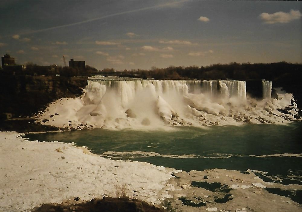 American Falls - Niagara - auf dem Weg von Toronto nach New York