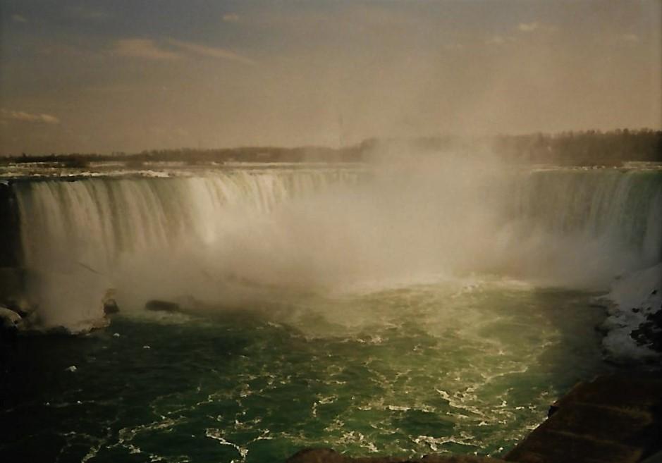 Horseshoe Falls - Niagara - auf dem Weg von Toronto nach New York