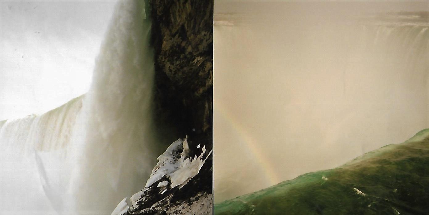 Journey Behind the Falls - Niagara - auf dem Weg von Toronto nach New York