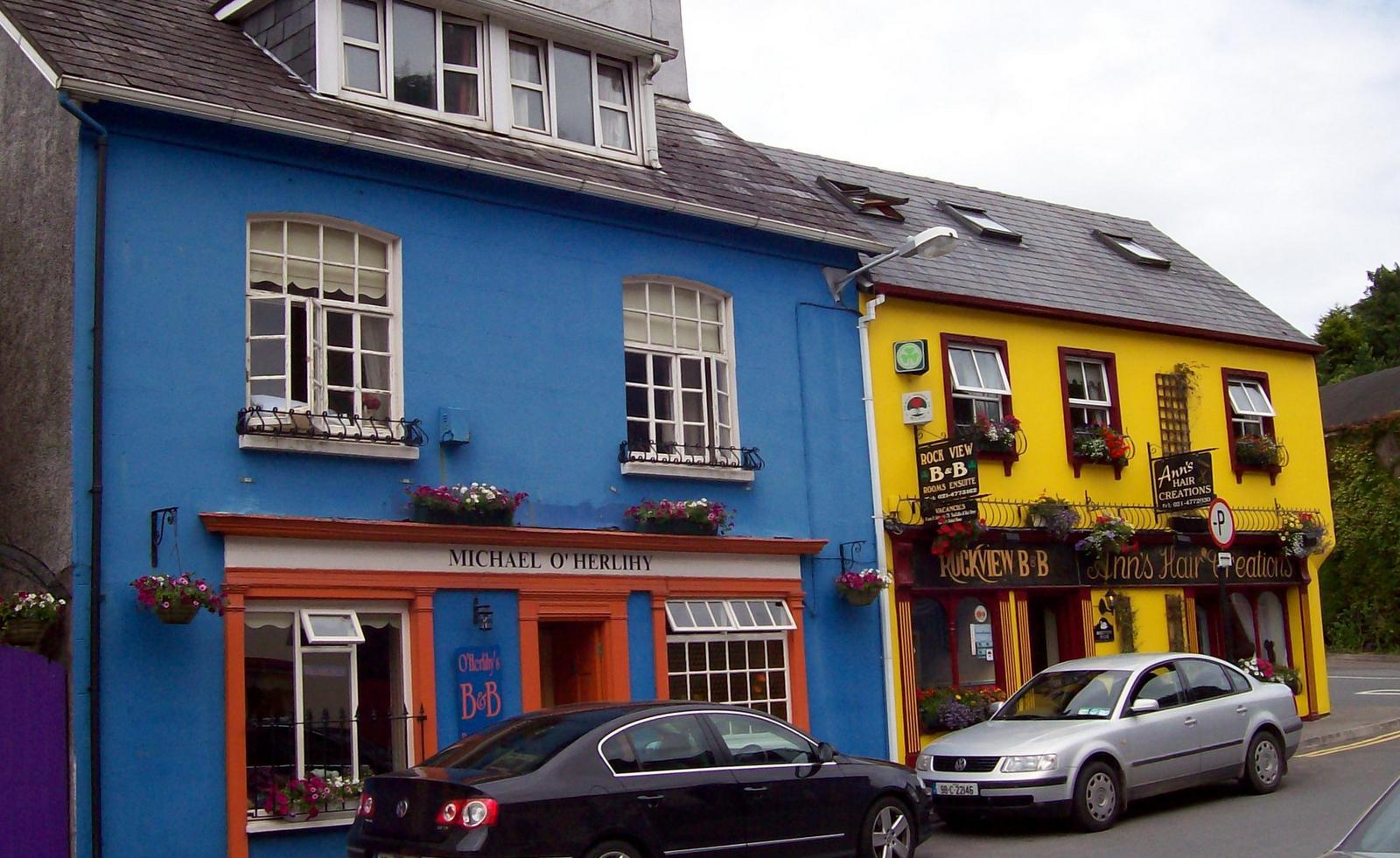 Bunte Häuser in Kinsale