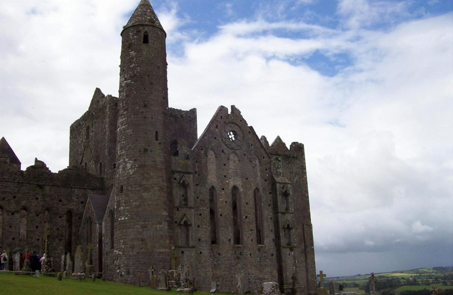 Rock of Cashel - Rundturm - Irland