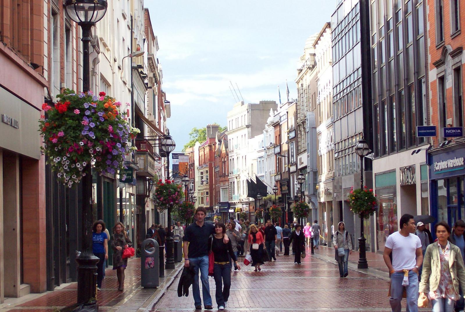 Dublins Haupteinkaufsstraße Grafton Street