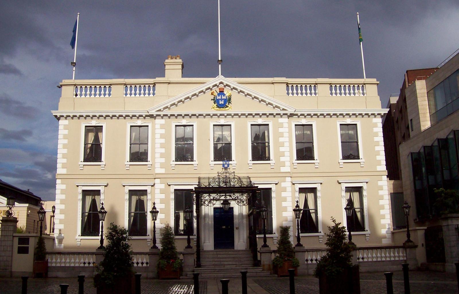 Dublins Amtssitz des Bürgermeisters: Mansion House