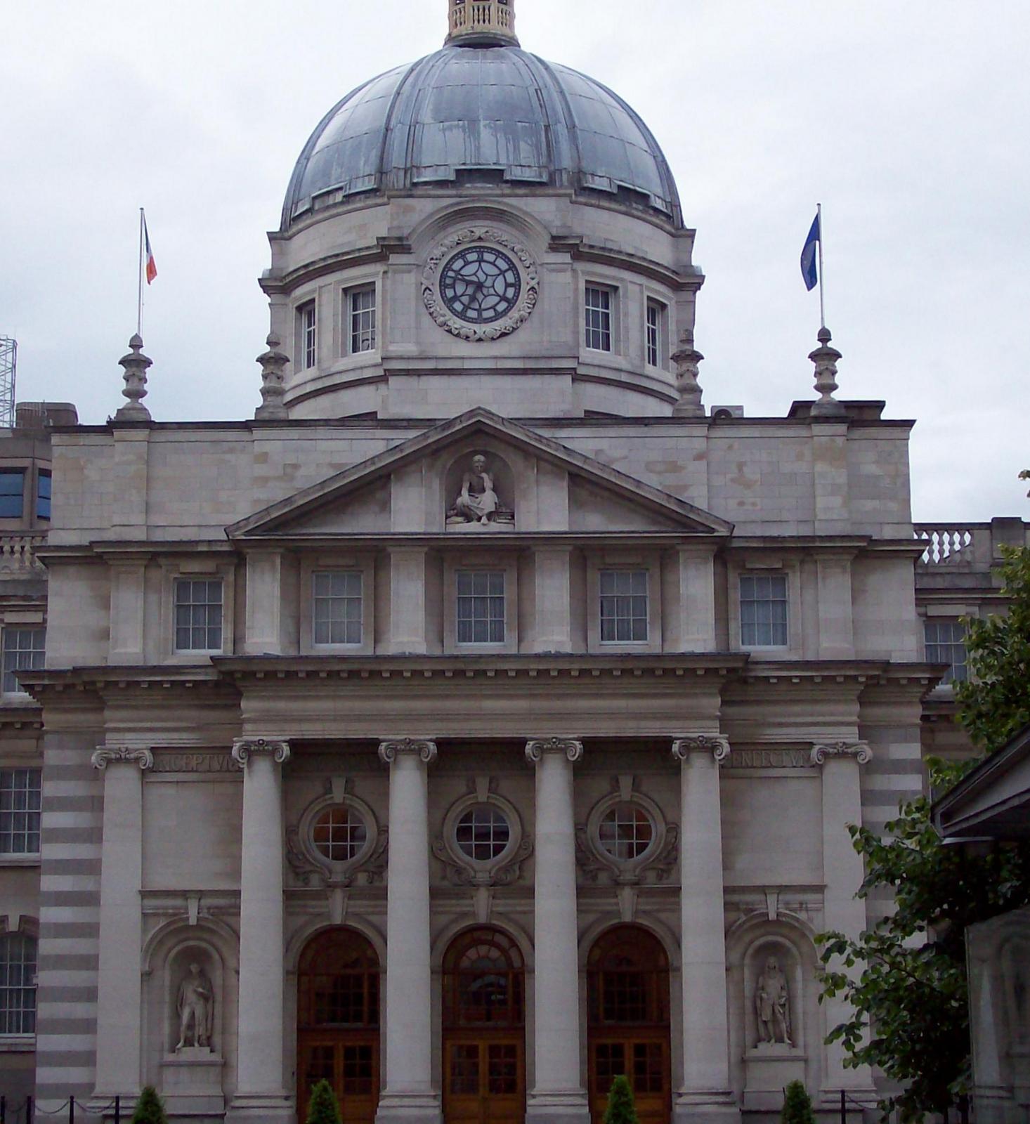 Leinster house Dublin