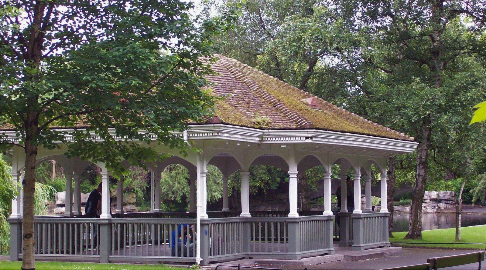 Stephen's Green im Zentrum Dublins
