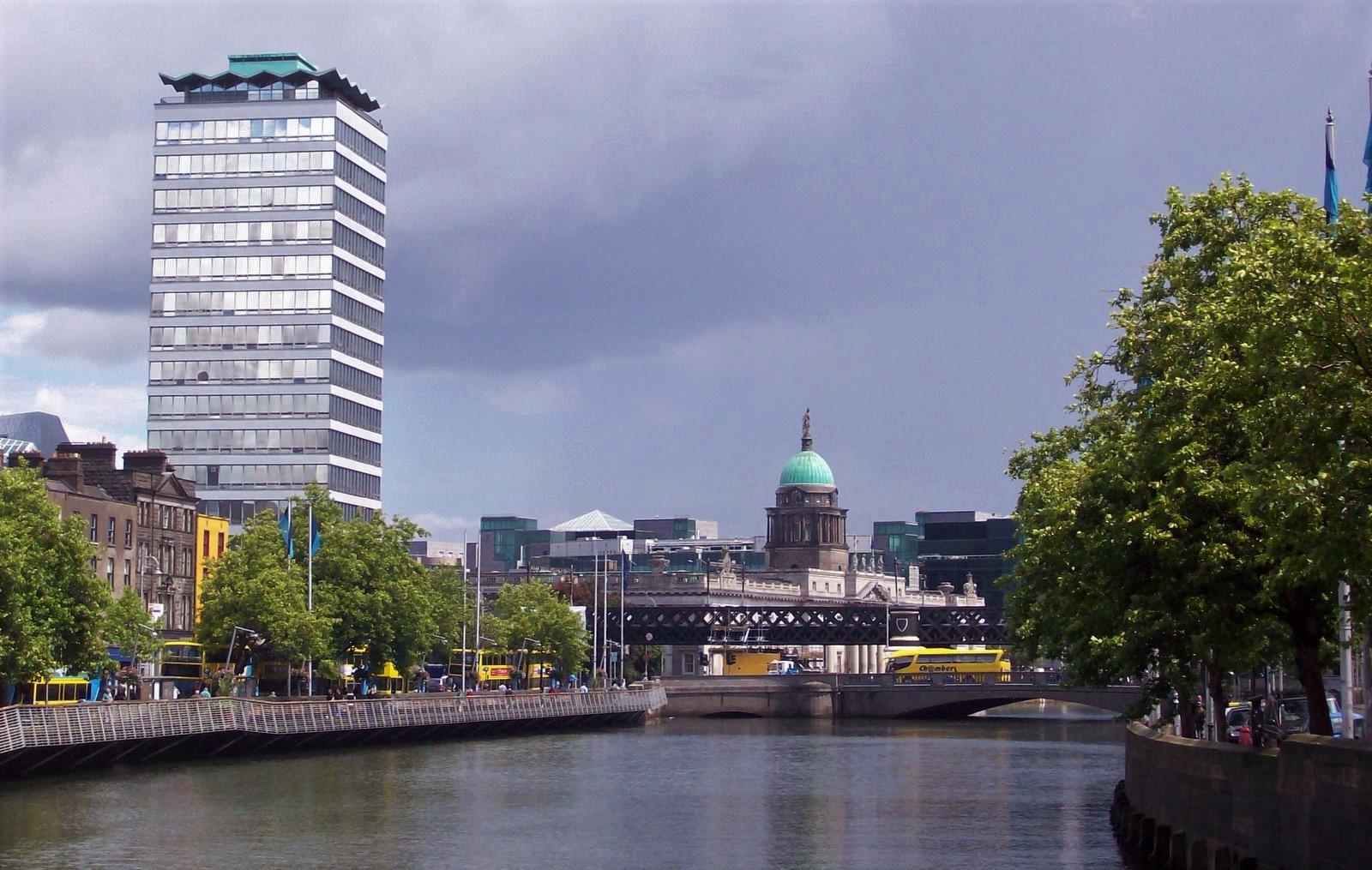 Am Liffey - Dublins Fluss