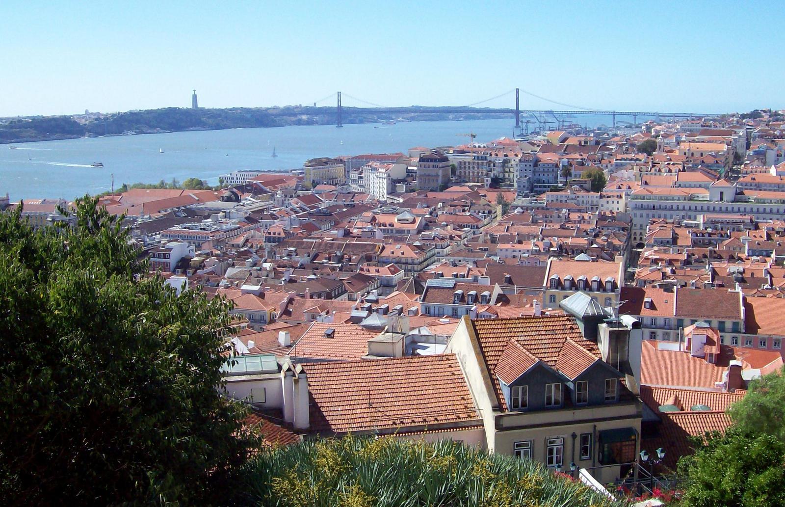 Lissabon - Ausblick vom Castello