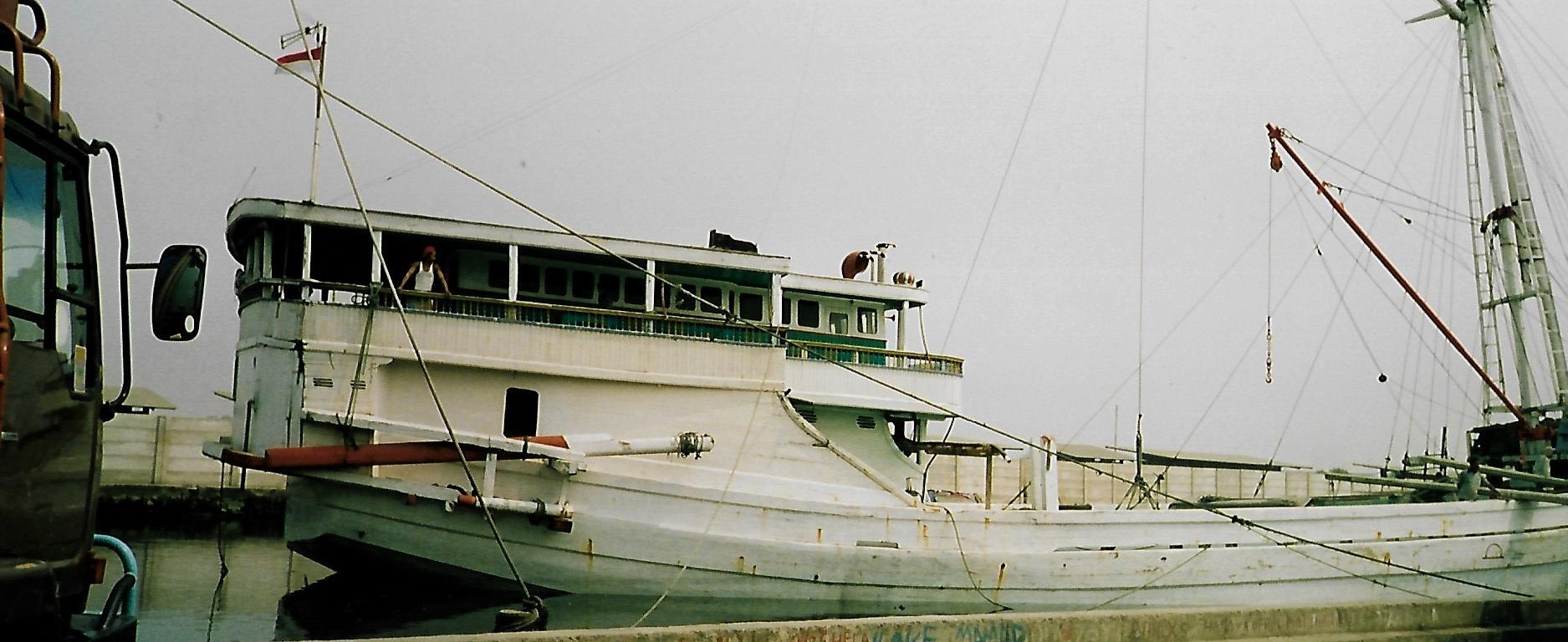 Makassar-Schoner im Hafen Sunda Kelapa