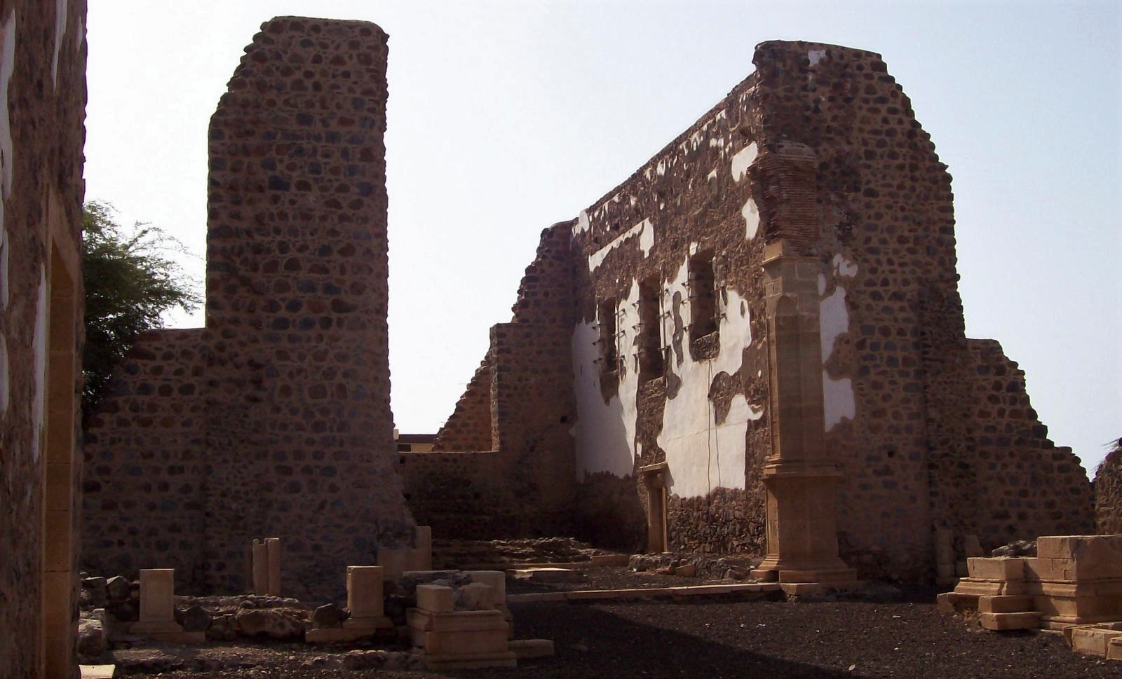 Ruine der Kathedrale Sé - Cidade Velha