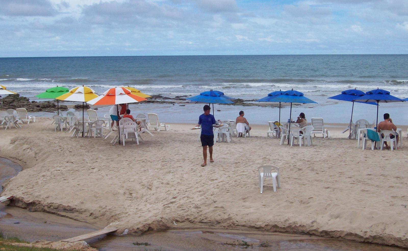 Praia de Morro Branco - Ceará