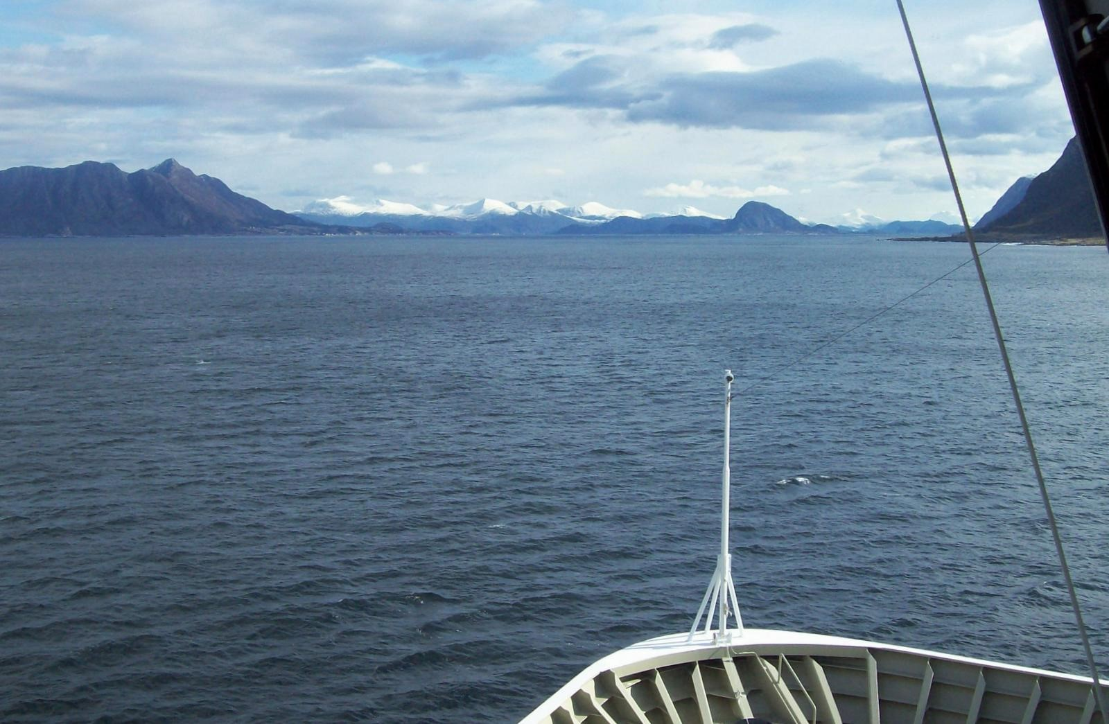 Hurtigruten - MS Trollfjord - Breisund