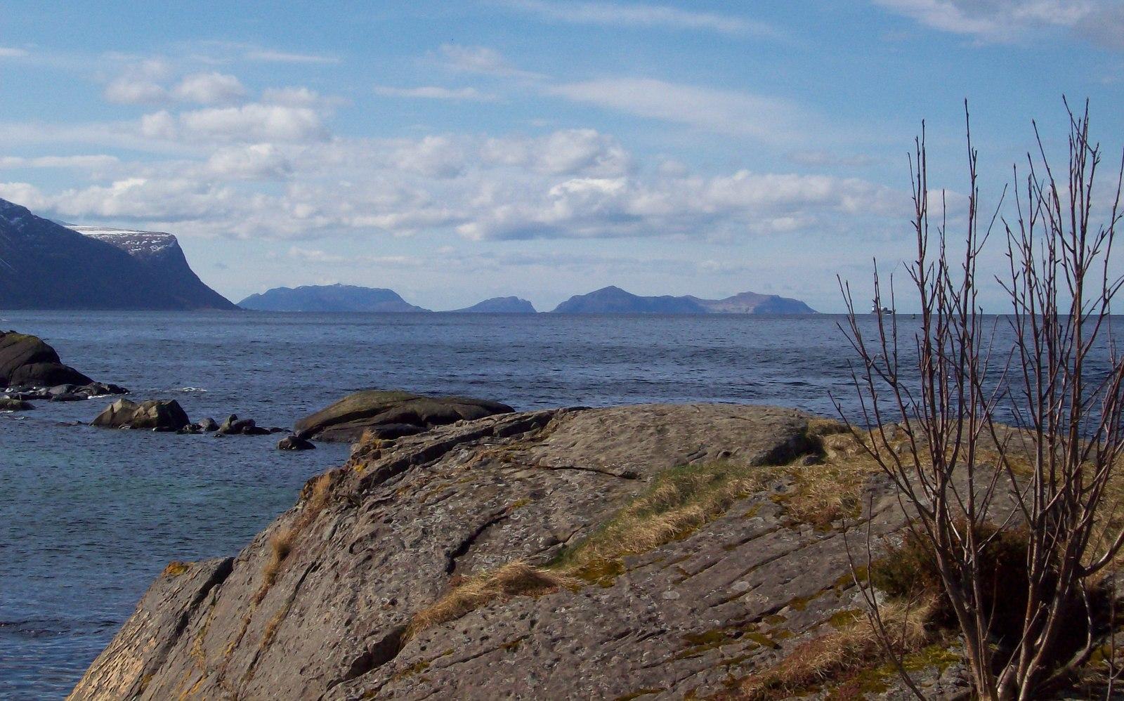 Schärenküste bei Ålesund