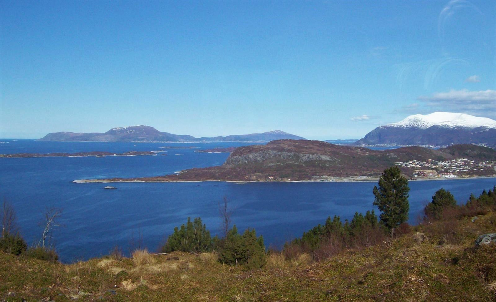 Landschaft bei Ålesund