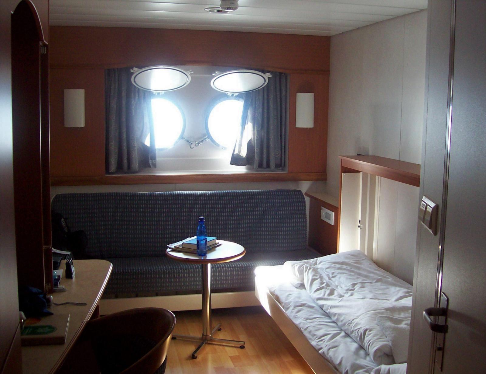 Hurtigruten - MS Trollfjord - Kabine 340