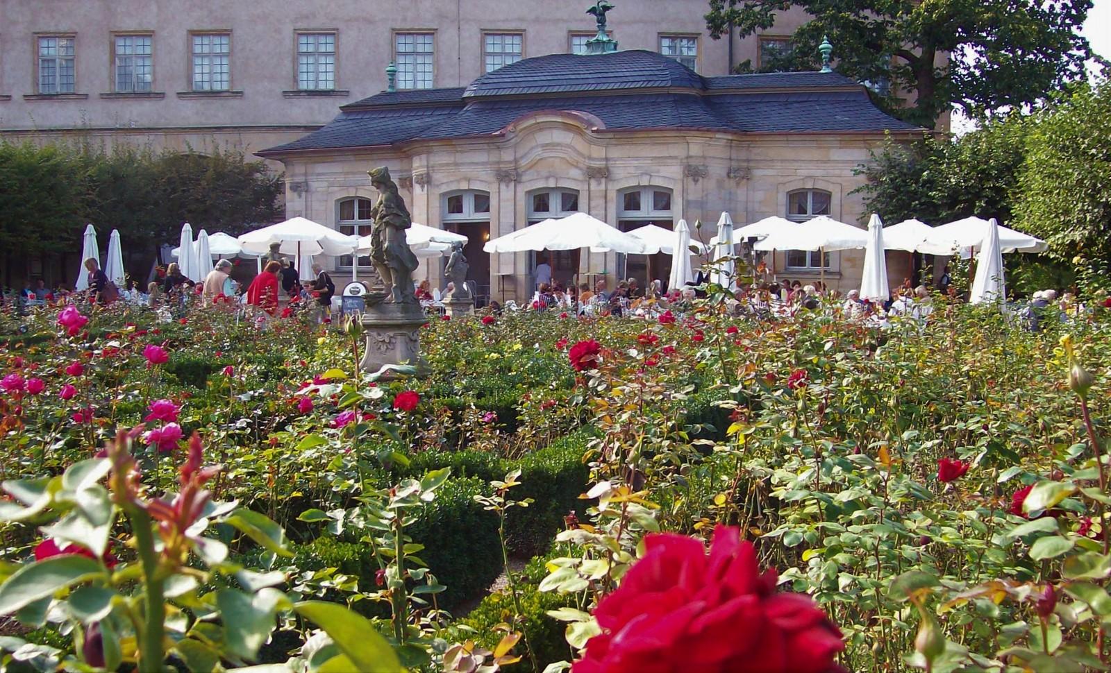 Gartenpavillon im Rosengarten - Bamberg