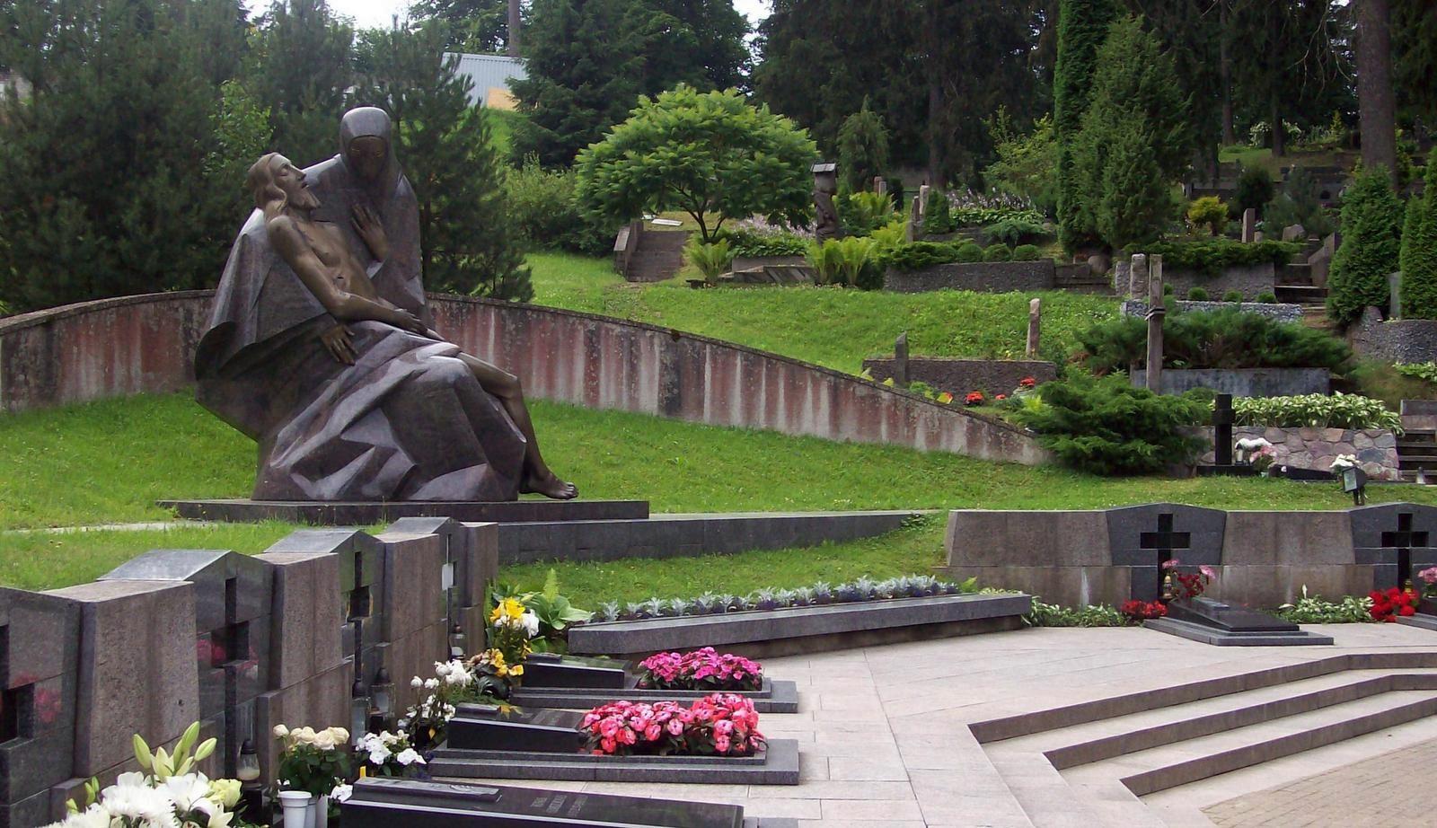 Der Friedhof Antakalnis - Nationale Gedenkstätte in Litauen