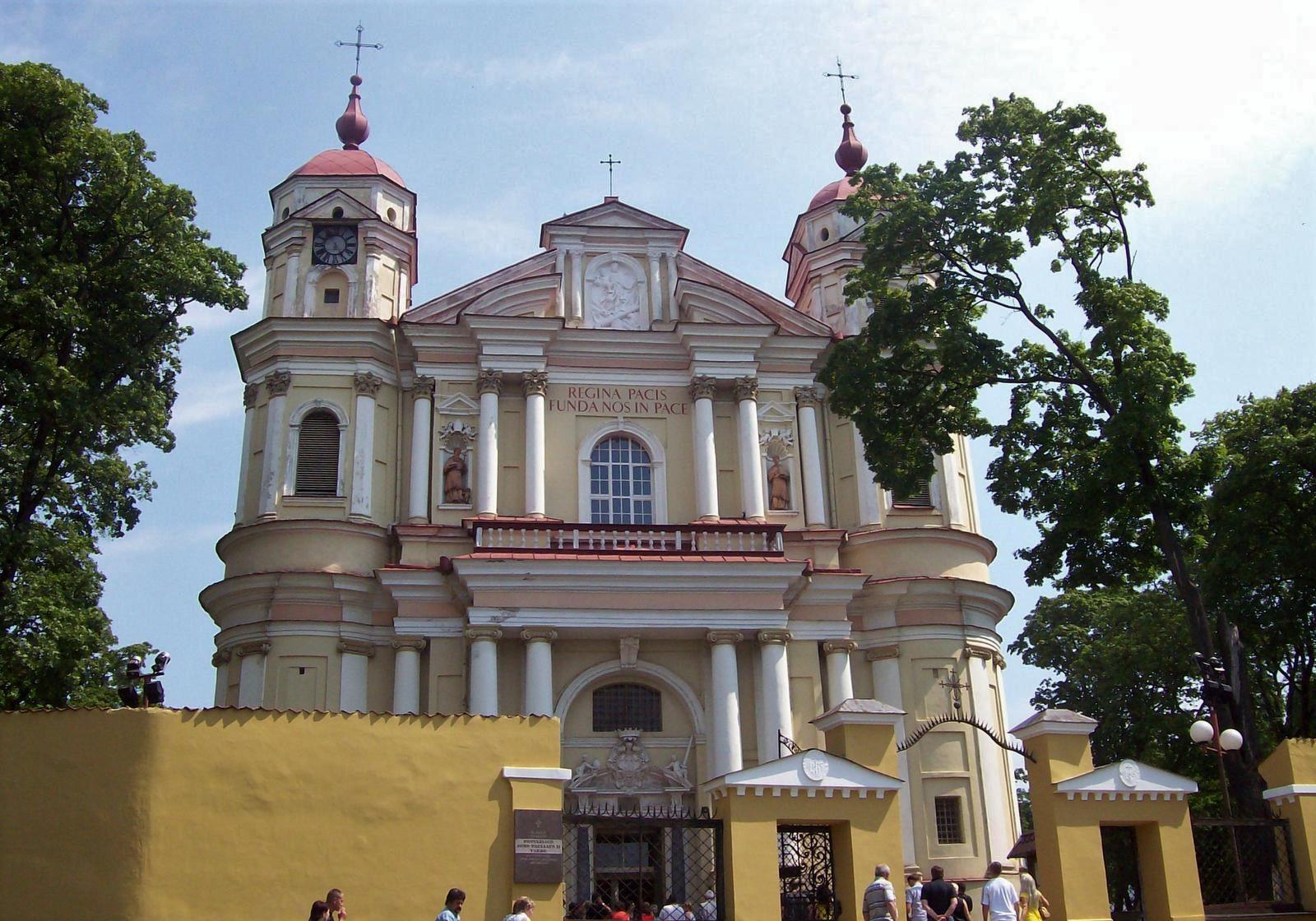 St. Peter und Pauls-Kirche Vilnius Litauen
