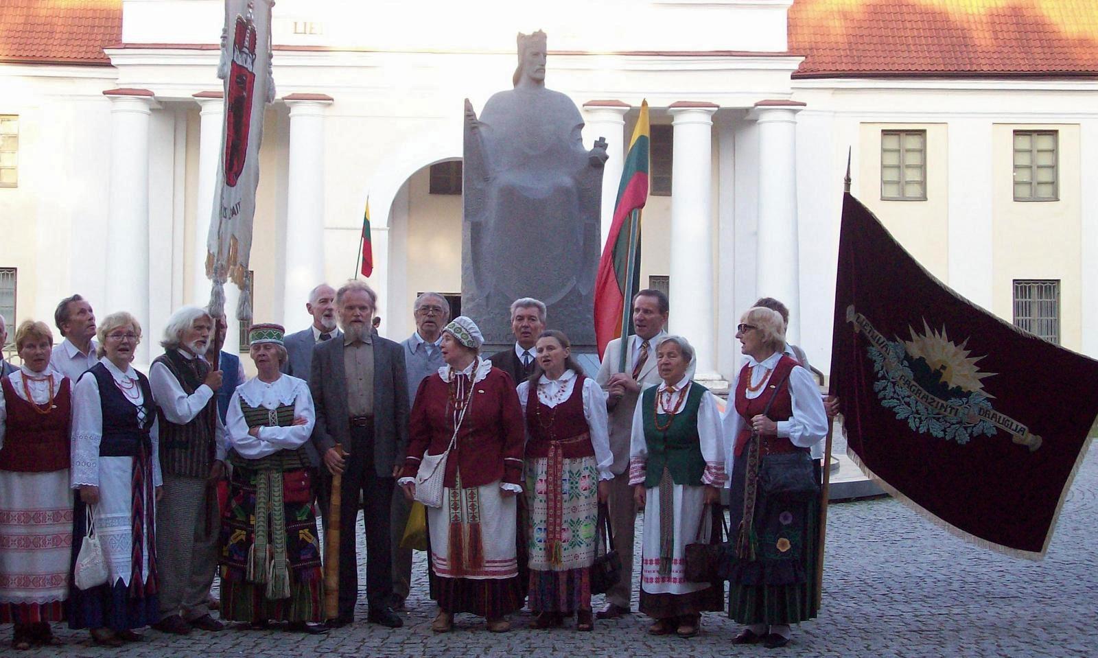 Denkmal des König Mindaugas