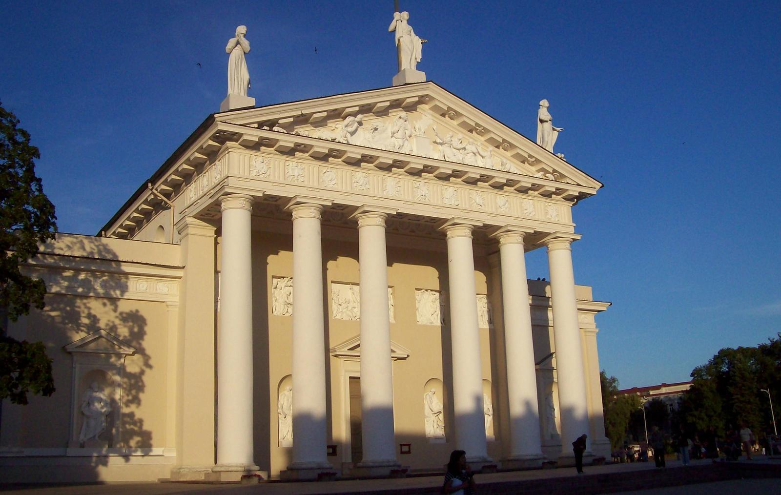 Kathedrale von Vilnius Litauen