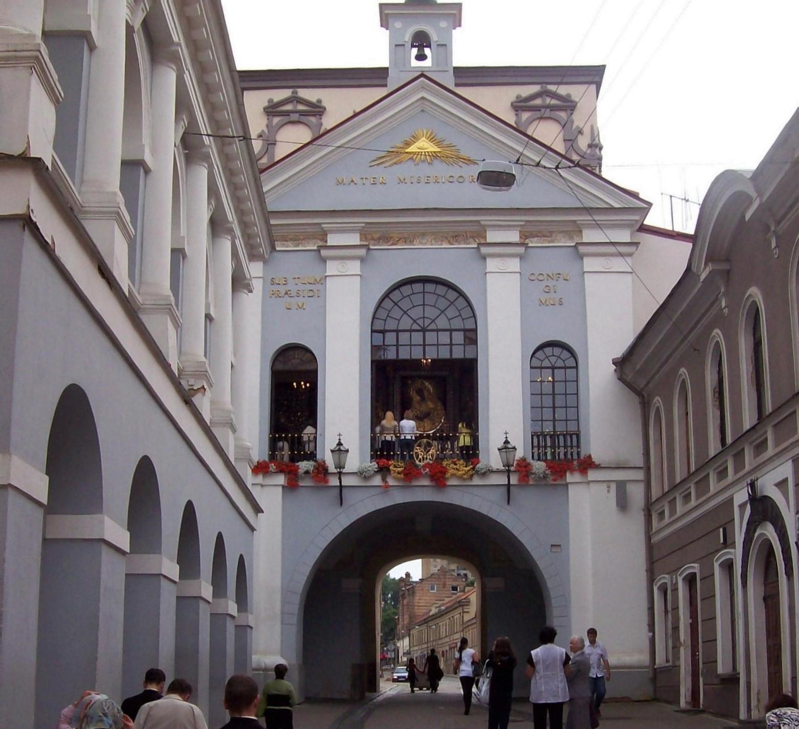 Tor der Morgenröte in Vilnius - Litauen