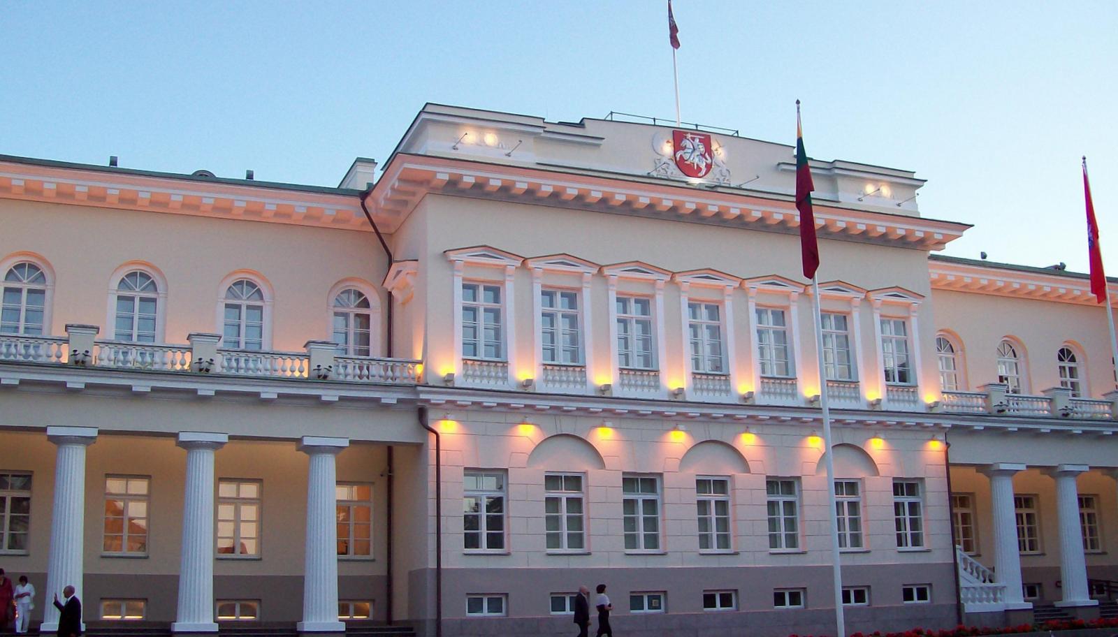 Präsidentenpalast von Litauen